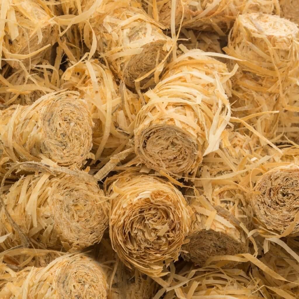 Grillanzuender Holzwolle